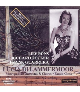 LUCIA DI LAMMERMOOR, F. Cleva, 1954