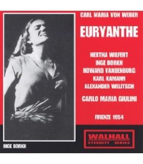 EURYANTHE - C. M. Giulini, 1954