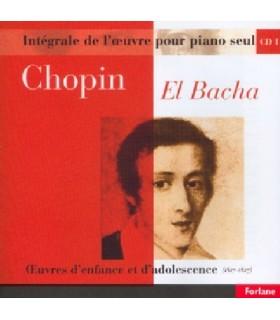 Œuvres pour piano seul - Vol.01 - EL BACHA