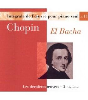 Œuvres pour piano seul - Vol.11 - EL BACHA