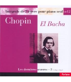 Œuvres pour piano seul - Vol.12 - EL BACHA