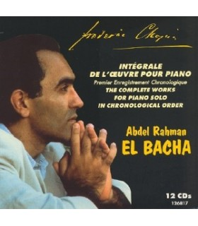 Œuvres pour piano seul -  Le coffret 12 CDs - EL BACHA