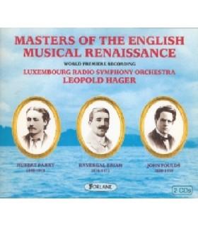 OF THE ENGLISH MUSICAL RENAISSANCE