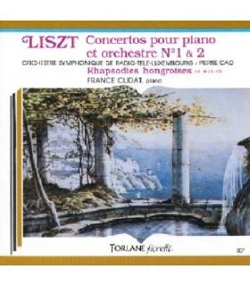 Concerto pour piano et orchestre N°1 & 2