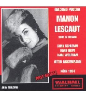 MANON LESCAUT - O. Akermann, 1954