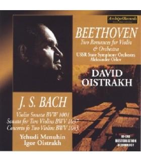 Sonate pour violon solo BWV 1001 (Moscou 1947)