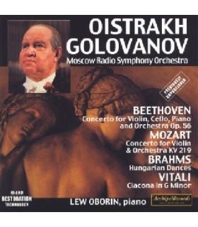 Concerto pour violon, violoncelle, piano et orchestre