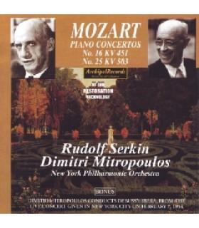 Concertos pour piano N°16