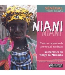 """NIANI """"Chants & Rythmes de la Communauté Mandingue"""""""