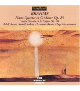 Quatuor pour piano en sol mineur Op.25