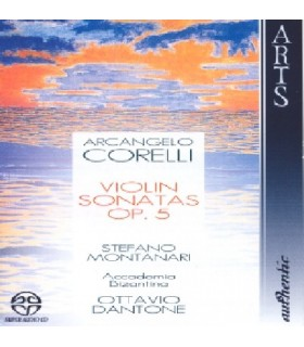 12 Sonates Op.5 pour violon et clavecin