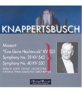 Sérénade & Symphonies N°39 & 40