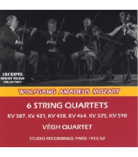 6 Quatuors à cordes