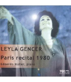 Récital Paris 1980