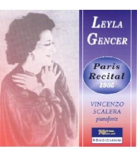 Récital Paris 1985