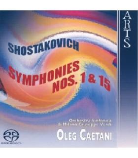 Symphonies N°1 & 15