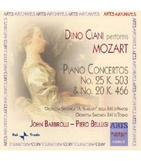 Concertos pour piano N°20 & 25