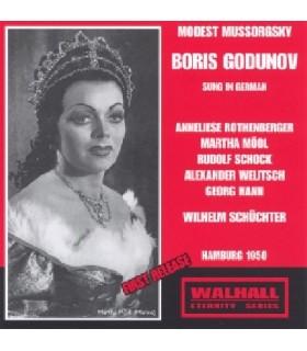 BORIS GODOUNOV - W.Schuchter, Hamburg 1950