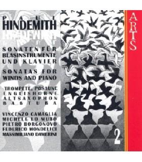 Sonates pour instruments à vent et piano - Vol.2
