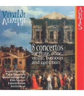 8 Concertos pour flûte,