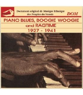 BOOGIE WOOGIE & RAGTIME (1927-1941)
