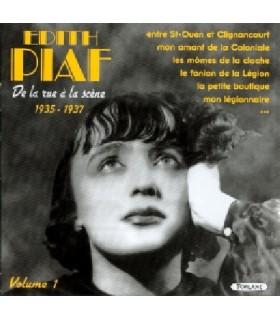DE LA RUE A LA SCENE 1935 - 1937