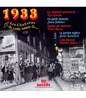 CETTE ANNEE LA : 1933