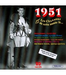 CETTE ANNEE LA : 1951