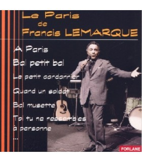 Le Paris de Francis Lemarque