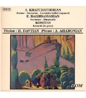Poème - Nocturne 4 extraits du Ballet Gayaneh