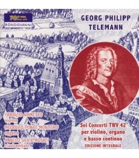 Six concertos pour violon