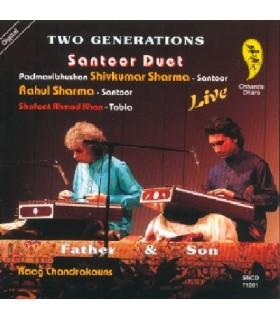 """2 Générations """"Santoor Duo Live"""""""