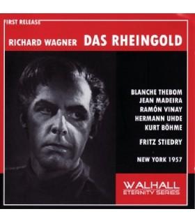 L'OR DU RHIN - Rheingold - Stiedry, 1957