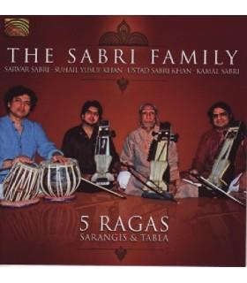 5 Ragas – Sarangis et Tabla