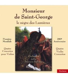 Monsieur de Saint georges, Nègre des lumières