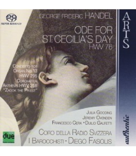 Ode for St. Cecilia's Day HWV 76