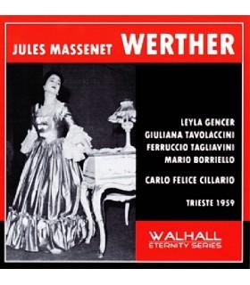 WERTHER - C.F. CILLARIO, Trieste, 1959