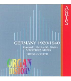 ORGAN HISTORY Germany 1920/1940