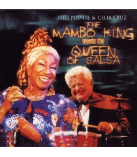 The Manbo King meets the Queen of Salsa