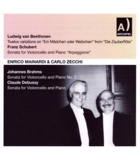 Beethoven - Schubert - Brahms - Debussy