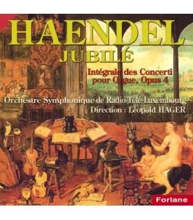 Integrale des Concerti pour Orgue, Opus 4