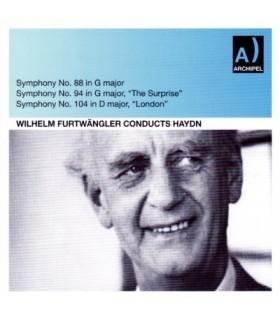 W. FURTWANGLER Symphony Nos 88-94-104
