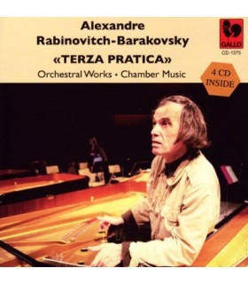 Terza Pratica - Orchestral Works - Chamber Music