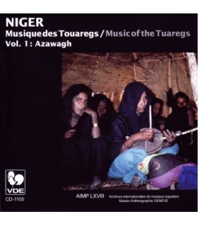 Musique des Touaregs, Vol. I AZAWAGH