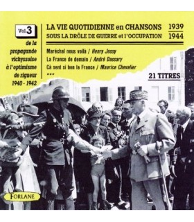 CHANSONS SOUS L'OCCUPATION Vol. 3