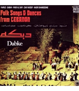 DABKE-FOLK SONGS & DANCES from LEBANON