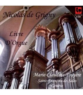 Livre d'Orgue, Marie-Claudine TOUYERE