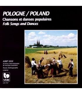 POLOGNE-Chansons et Danses Populaires