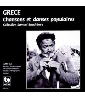 GRECE-Chansons et Danses Populaires