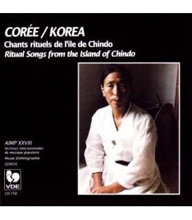 COREE-Chants Rituels de l'Ile de Chindo